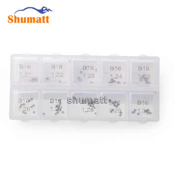 100pcs Common Rail Parts Brand 120 Series Fuel Injector Valve Assy Adjustment Washer Shims B16 D Thickness Range 1.21-1.30mm - DISCOUNT ITEM  8% OFF Automobiles & Motorcycles