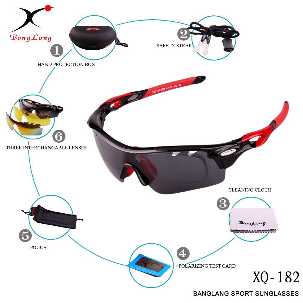 d13a80f8d ᗑ】XQ-HD دراجة هوائية جبلية النظارات عدسات قطبية النظارات الشمسية ...
