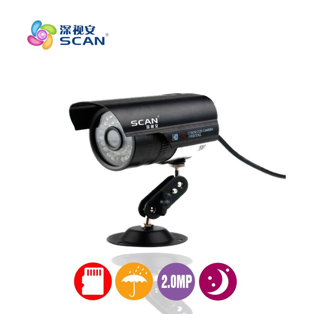 Hd Bullet Ip Camera 2 0mp font b Outdoor b font Waterproof Onvif 36 Infrared Lights