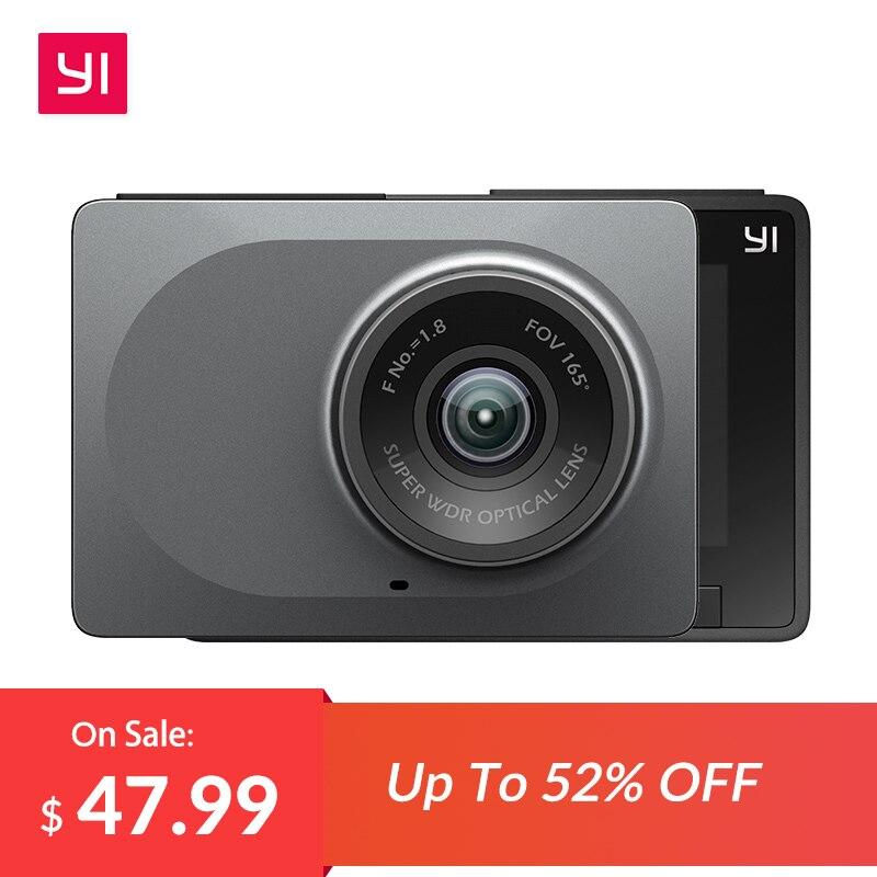 YI Smart Dash Camera International Version WiFi Night Vision HD 1080P 2.7'' 165 degree 60fps ADAS Safe Reminder Dashboard Camera
