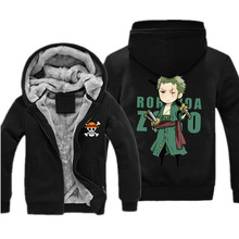 One Piece Luffy Chopper Fleece Hoodie