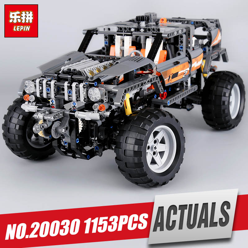 Lepin 20030 1132Pcs Technic Ultimate Series The Off-Roader Set Children Educational Building Blocks Bricks Toys Model Gifts 8297 ynynoo lepin 02043 stucke city series airport terminal modell bausteine set ziegel spielzeug fur kinder geschenk junge spielzeug