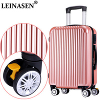 Suitcase ABS+PC new style fashion luggage 20 26 inch trolley suitcase travel bag luggage bag Rolling luggage with spinner wheel
