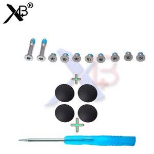 Новинка, 4 шт./лот, чехол с резиновой подошвой, комплект для ног + винты + инструменты для Macbook Air 11