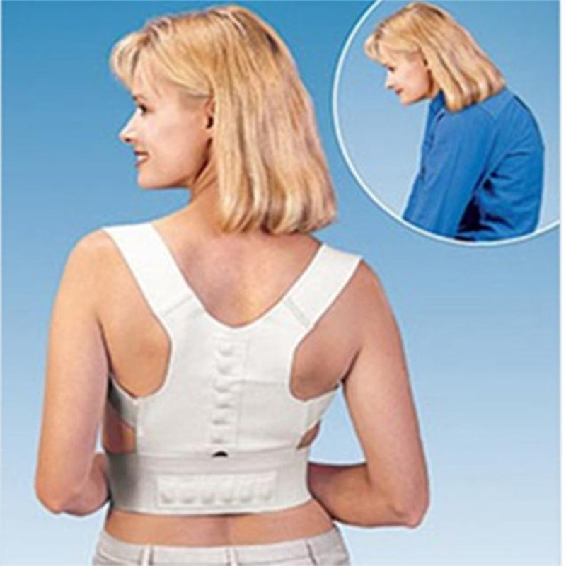 Medical Brace Corset Back Orthopedic Posture Correction Shoulder Brace Magnetic Posture Correction Upper Back Pain Relief ...
