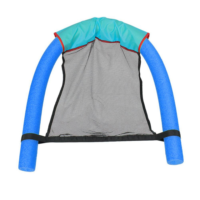Runacc Pool Noodle Sling Chair Portable Swimming Floating Durable Water Mesh Seat For S And Children