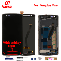 In Stock 100 Original LCD Display Screen Touch Screen Assembly Replacement For Oneplus One 64GB 16GB