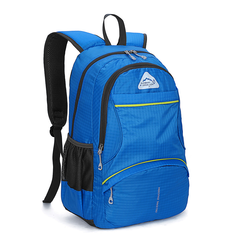 B139 Outdoor movement waterproof and wear-resistant Breathable Mountaineering trip camping ride hiking backpack Multi-color