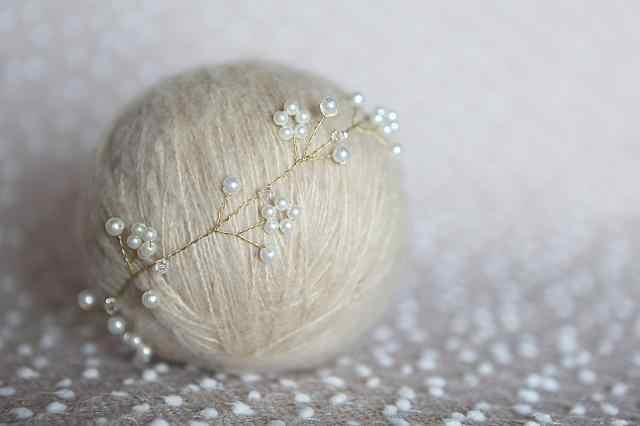 Жемчужная Корона новорожденная Детская повязка на голову ручной работы, головная повязка для новорожденных, девочка, младенец, повязка на голову, свадьба, Крещение, волосы bows1633
