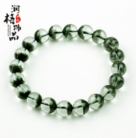 Natural green ghost bracelet Women identification certificate