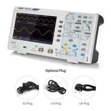 цена на Digital Oscilloscope 2 Channel 100MHz LCD Display Oscilloscopes With Probe For Oscilloscope Support for SCPI and LabVIEW