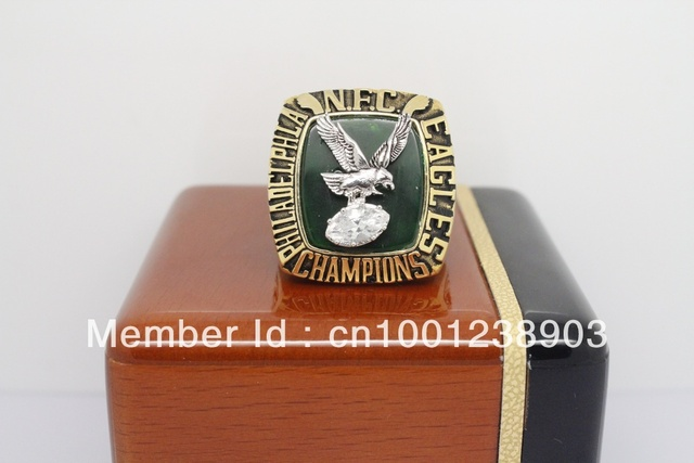 Class Rings 1980 Philadelphia Eagles National Football Championship Rings High quality Ring Replica Custom Rings Sport ring