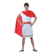 Arab prince red cloak gladiators roman soldier Julius Caesar adult men cosume cosplay party halloween costumes