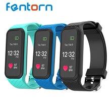 Fentorn красочный экран L38i умный Браслет BT4.0 монитор сердечного ритма SmartBand наручные Спорт Фитнес полосы для iOS и Android