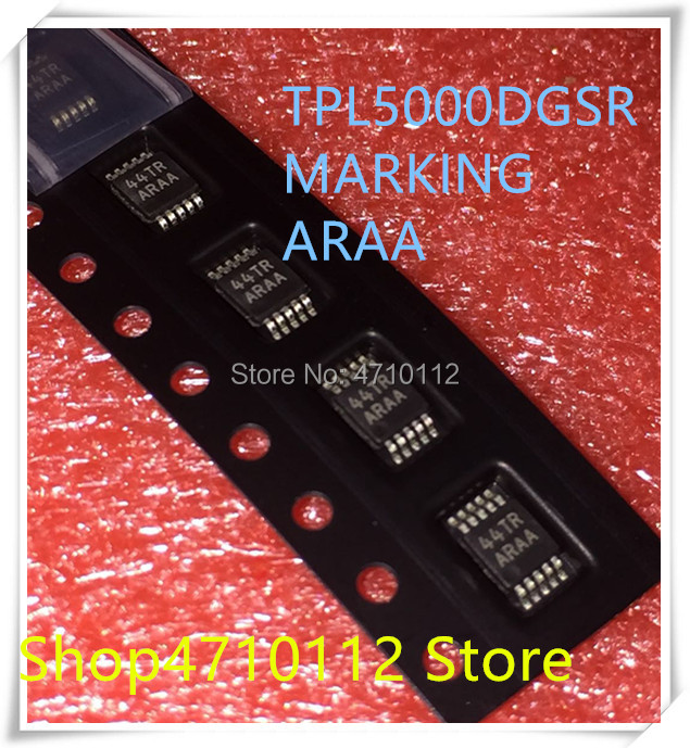 NEW 10PCS LOT TPL5000DGSR TPL5000 MARKING ARAA MSOP 10 IC