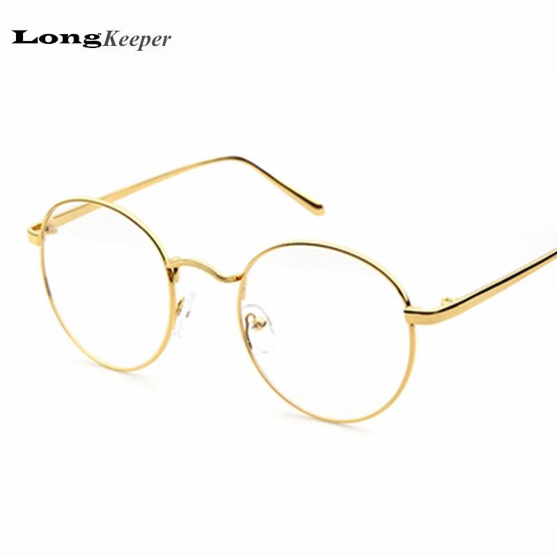 3d9d1bb1b8d4 www.lesbauxdeprovence.com   Buy Metal Round Eyeglasses Retro Glasses Frames  Reading Glass Eyeware