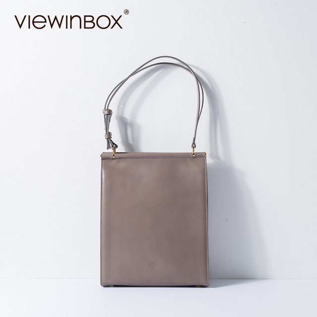 Viewinbox V Soft Leather Bag Big Tote Bags For Women Longchampagn Bag  Leather Bags Split Cowhide 5cdfe55be7ac6