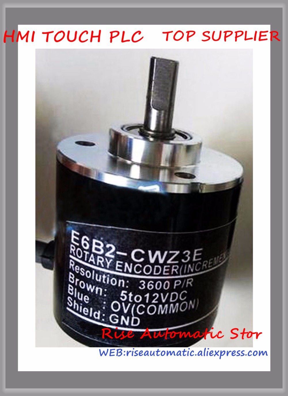E6B2-CWZ3E 3600P/R Incremental Rotary Encoder 5-12V DC incremental rotary encoder e6b2 cwz6c 10 2000p r cnc servo stepper motor