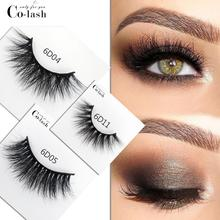 Colash eyelashes 3D mink eyelashes long lasting mink lashes natural dramatic volume eyelashes extension false eyelashes все цены