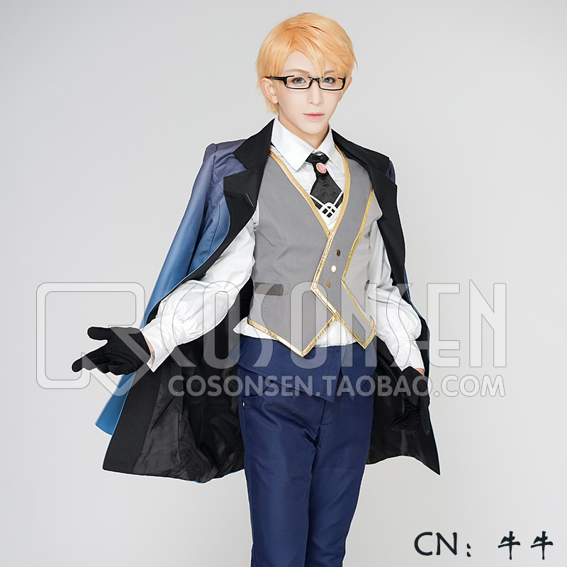 COSPLAYONSEN Fate Grand Order FGO Assassin Jekyll Hyde Cosplay Costume Full Set All Size Custom Made