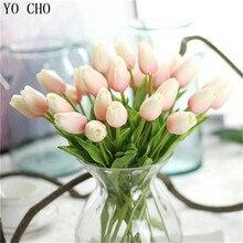 Wysokiej jakości sztuczny kwiat TULIPAN 1szt