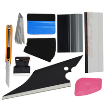 EHDIS Car Wrap Kit Window Tint Tools Kit 3M Felt Squeegee Vinyl Car Wrap Tools Window Tinting Tools Squeegee Multi Hand Tools