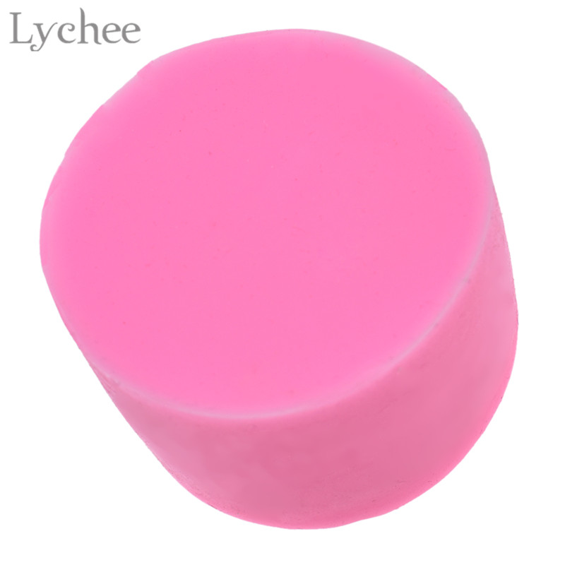 Lychee 3D Rose Shape Silicone Mold Mould For DIY Jewelry Making Soap Tools Handmade Craft