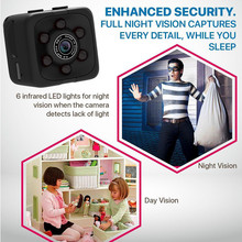 Mini Hidden Security Night Vision Camera