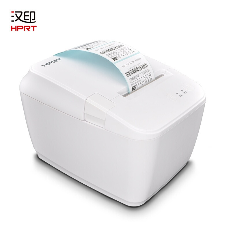 NEW HTRP Label Thermal Printer 60mm/80MM Bills Receipt Bluetooth Printers Connection Phone/ PC