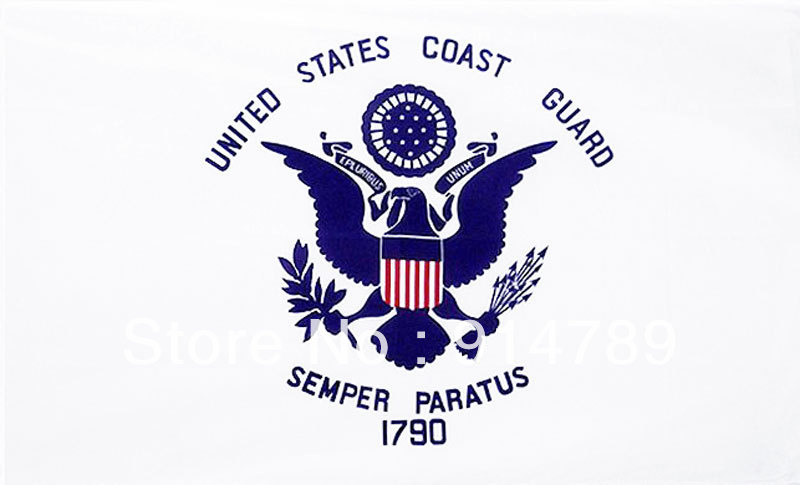 US UNTIED STATES COAST GUARD FLAG BANNER 90X150CM 3x5'-33329