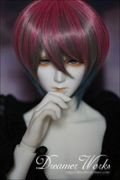 New CThe prince is short hair BJD Doll Wig 1/3 HM17
