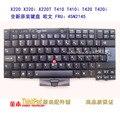Para LENOVO para X220i X220 Thinkpad X220T T410 T410i T420 T420i W510 teclado del ordenador portátil