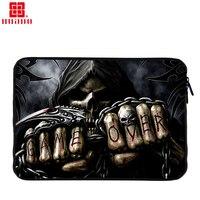 Bohemians Soft Canvas Laptop Sleeve Bag Case Pouch For Macbook Air Pro Retina 12 13 15