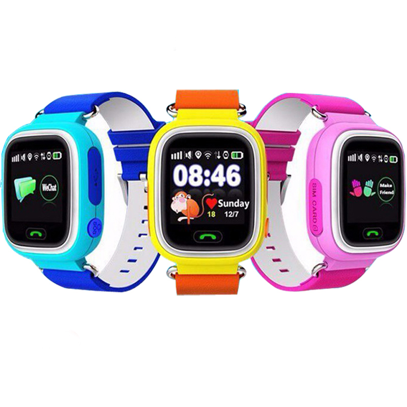 Q90 Child GPS Smart Watch With Wifi Touch Screen Children <font><b>Smartwatch</b></font> SOS Call Location For <font><b>Kid</b></font> Safe Anti-Lost Monitor PK <font><b>Q50</b></font> Q80 image