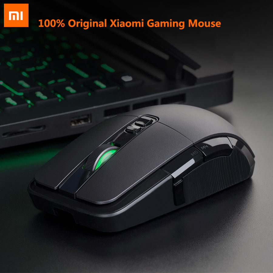 Original Xiaomi Game Mouse Portable Usb/Wireless 2.4GHz Dual Mode 7200Dpi 6 Button RGB Led Gaming Mouse MacOS Windows Gamer Mice-in Mice from Computer & Office