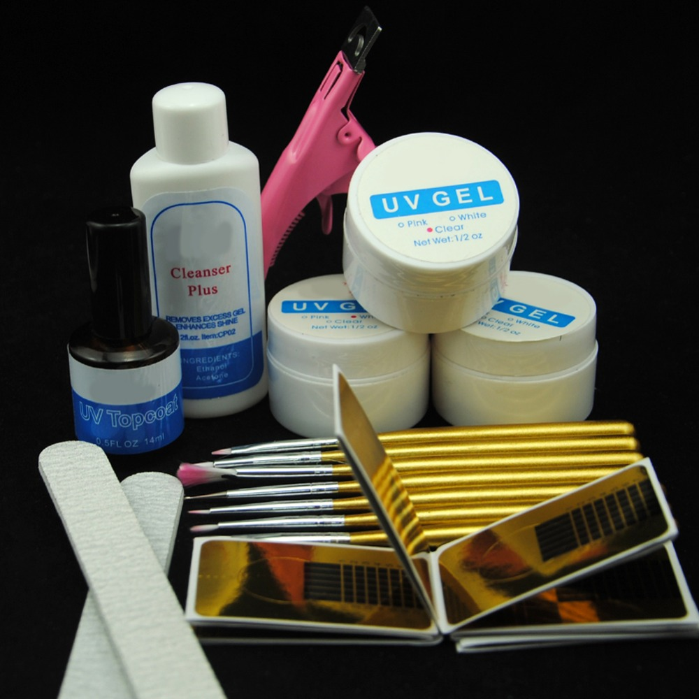 Uv Gel Nail Polish Starter Kit: Aliexpress.com : Buy Nail Gel Varnish Polish Manicure Set