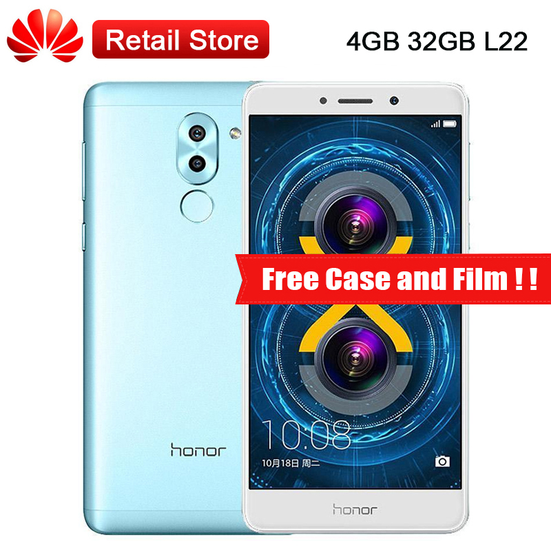 Global Huawei Honor 6x L22 LTE Mobile phone 4GB RAM 32GB ROM Android 6 0 5