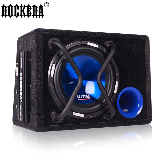 09a8ae5f4bd New Arrival 10 Inch Car Speaker 12V Big Power 500W Active Car Subwoofer  With Amplifier Audio Car Speakers Car Sound