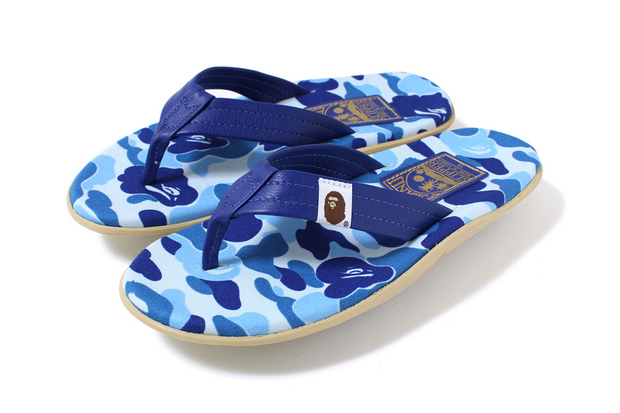 a4f80ccdc41 Bape X Island Slippers Camo Sandals-in Women s Sandals from Shoes on  Aliexpress.com