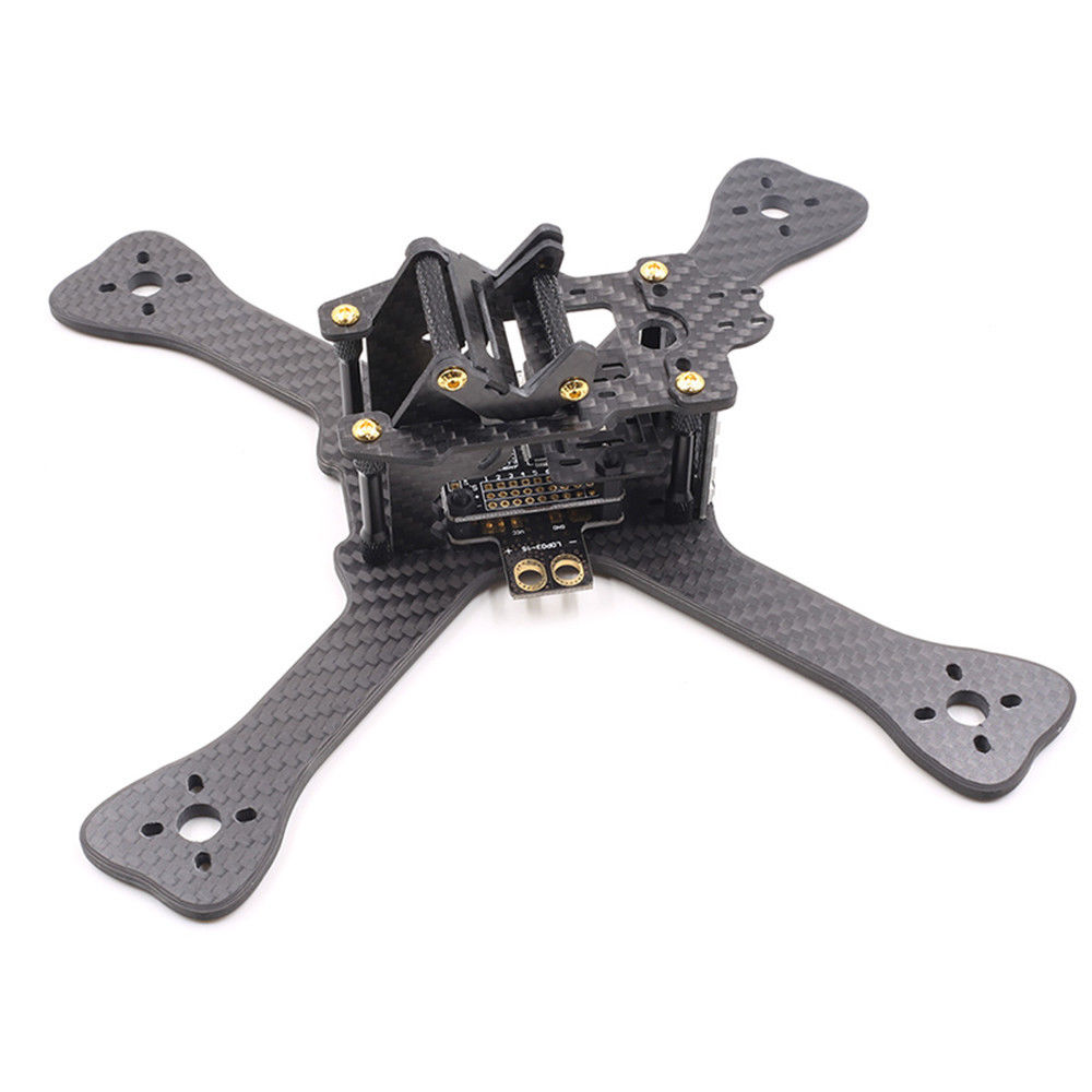 GEP-TX Chimp 6 Inch 230MM Carbon Fiber Frame Kit With PDB LED XT60 Camera Mount For DIY Quadcopter RC Drone High Quality led телевизор panasonic tx 43dr300zz