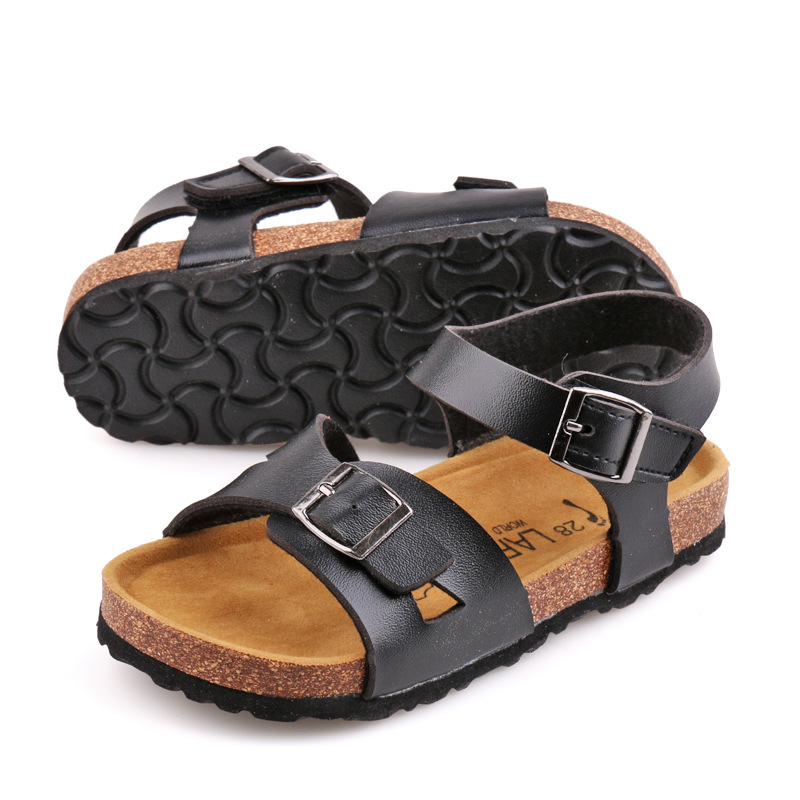 LARTUS Brand Boys Girls Shoes Boys Girls Sandals New Arrivals Fashion Kids Beach Shoes White Shoes 4 Color Size 24-34