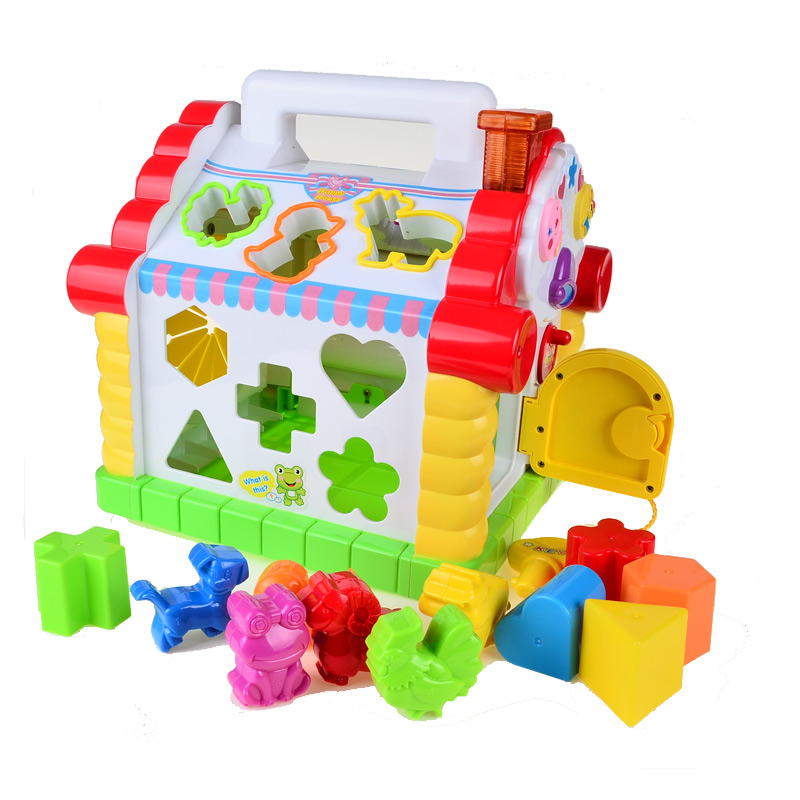 BOHS-Multifunctional-Musical-Toys-Colorful-Baby-Fun-House-Musical-Electronic-Geometric-Blocks-Sorting-Learning-Educational-Toys-1