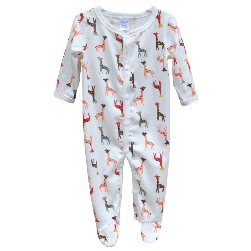 Newborn Baby Clothes Unixes Cotton Baby Rompers Long Sleeve Animal Baby Boys Girls Jumpsuit Infant Toddlers Outerwear Clothes cotton newborn infant baby boys girls clothes rompers long sleeve cotton jumpsuit clothing baby boy outfits