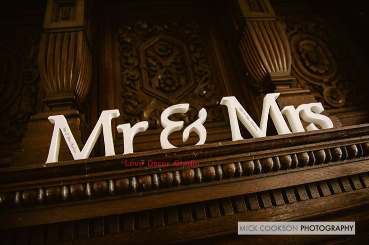 MR. &. MRS. wooden sign, sweetheart table, wedding, DIY option, available also painted or glitter