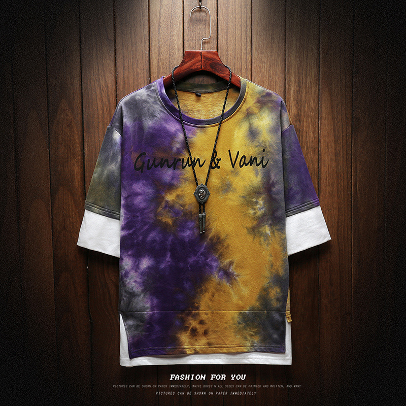 2019 NEW T shirt men Harajuku Streetwear funny fashion t shirt men T shirt hip-hop shirt summer men's t-shirt M-5XL 9