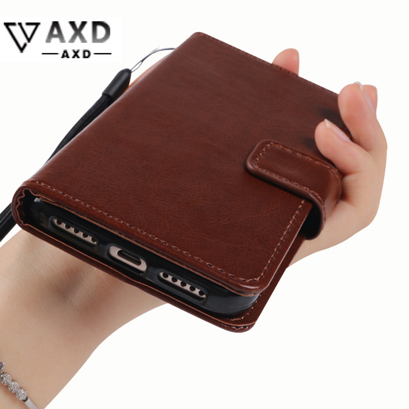 Wallet style flip cover for <font><b>OnePlus</b></font> 1 2 <font><b>3</b></font> 3T 5 5T 6 X One Plus One Two soft TPU silicone shell PU leather flip cover card slots image