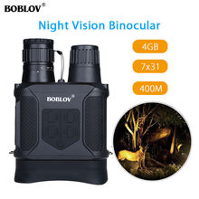 Promo offer BOBLOV NV400 Infrared Digital Night Vision Telescope High Magnification with Video Output Function Hunting Monocular 400m View