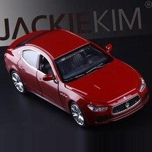 높은 시뮬레이션 절묘한 다이 캐스트 및 장난감 차량: Caipo 자동차 스타일링 마세라티 지브리 스포츠카 1:32 합금 다이 캐스트 모델 장난감 자동차