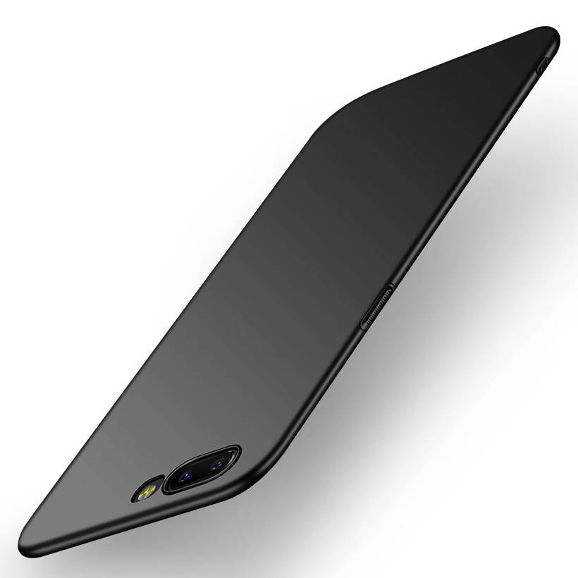 SFor OnePlus 6 6T 5 5T 3 Case Ultra Thin Slim Back Hard Plastic Covers Plain Bags Business Skins Shell for One Plus 6 6T 5 5T 3 in Fitted Cases from Cellphones Telecommunications