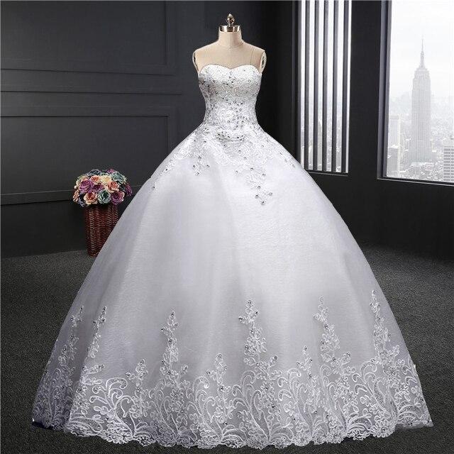 Sweetheart Wedding Dress 2018 Spring Summer New Fashion